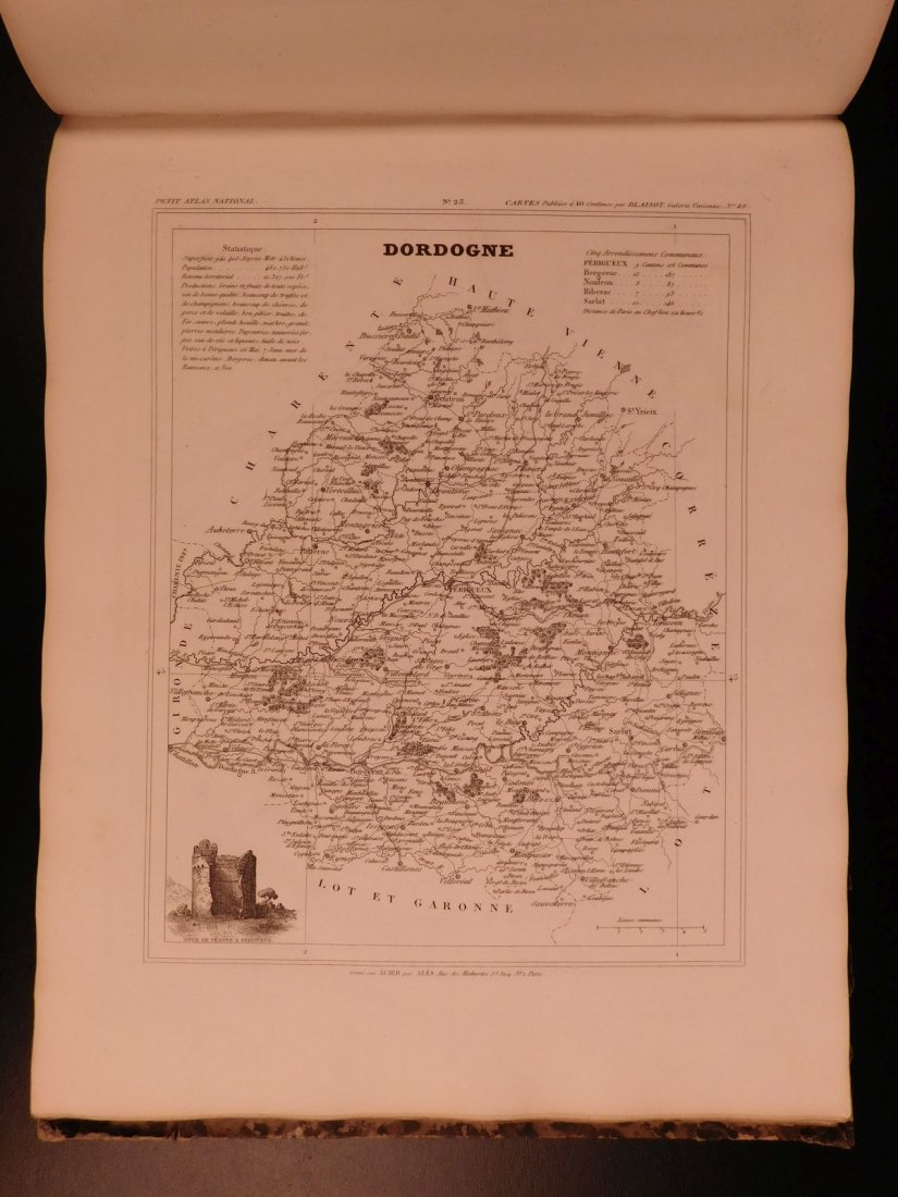 1833 ATLAS MAPS Cartography Navigation Voyages - 8