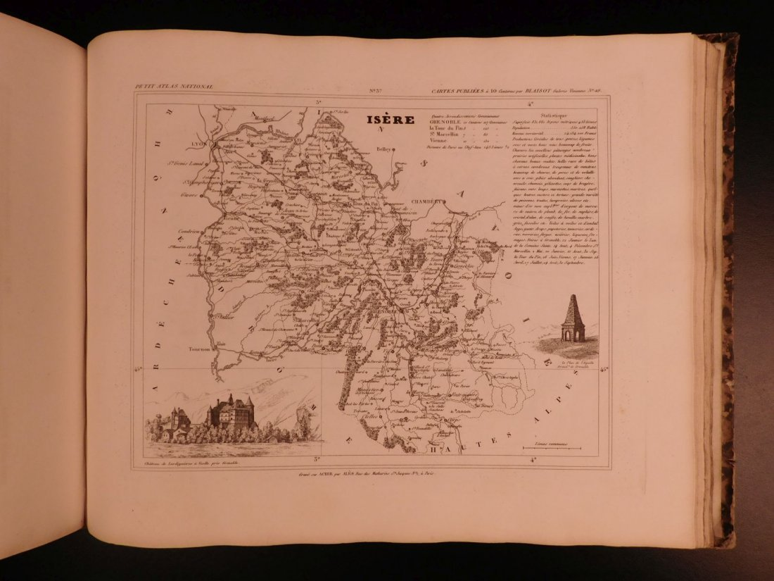 1833 ATLAS MAPS Cartography Navigation Voyages - 9
