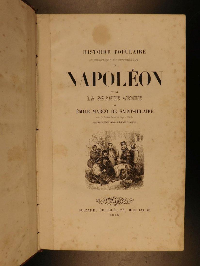 1846 Napoleon Bonaparte Saint-Hilaire Illustrated - 2