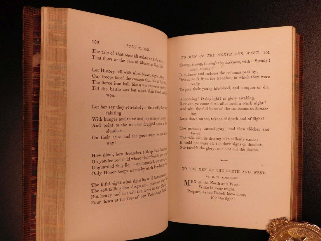 1864 CIVIL WAR Lyrics of Loyalty SIGNED Longfellow - 10
