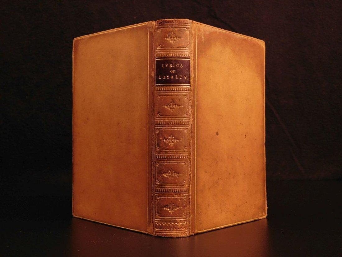 1864 CIVIL WAR Lyrics of Loyalty SIGNED Longfellow