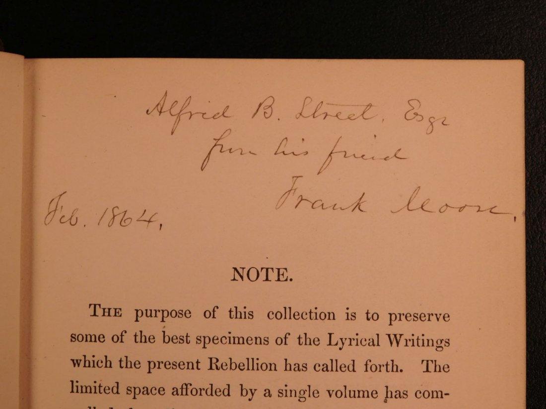 1864 CIVIL WAR Lyrics of Loyalty SIGNED Longfellow - 4