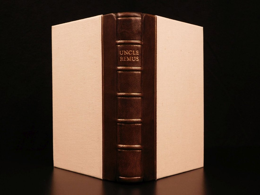 1881 1st ed Uncle Remus Harris Slavery Song of South