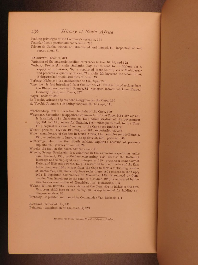 1888 History of South Africa Theal Hottentot Chinese - 10