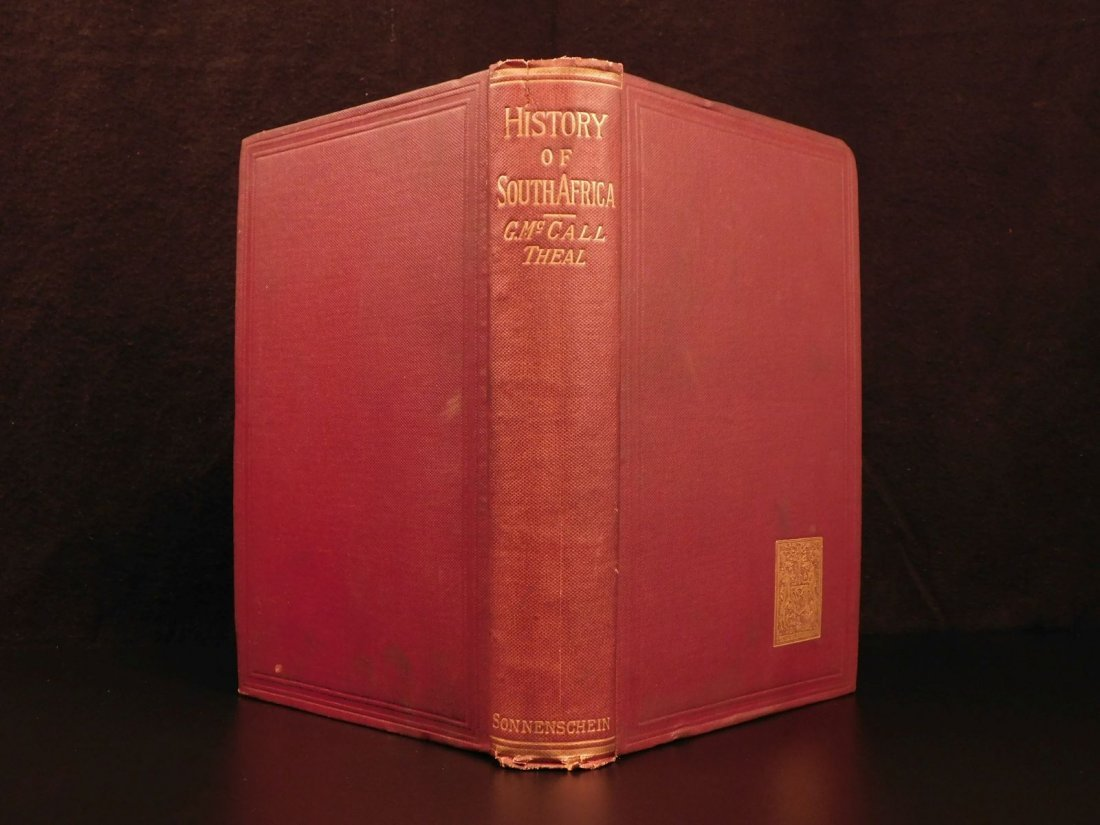 1888 History of South Africa Theal Hottentot Chinese - 2
