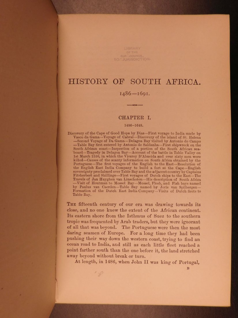 1888 History of South Africa Theal Hottentot Chinese - 4