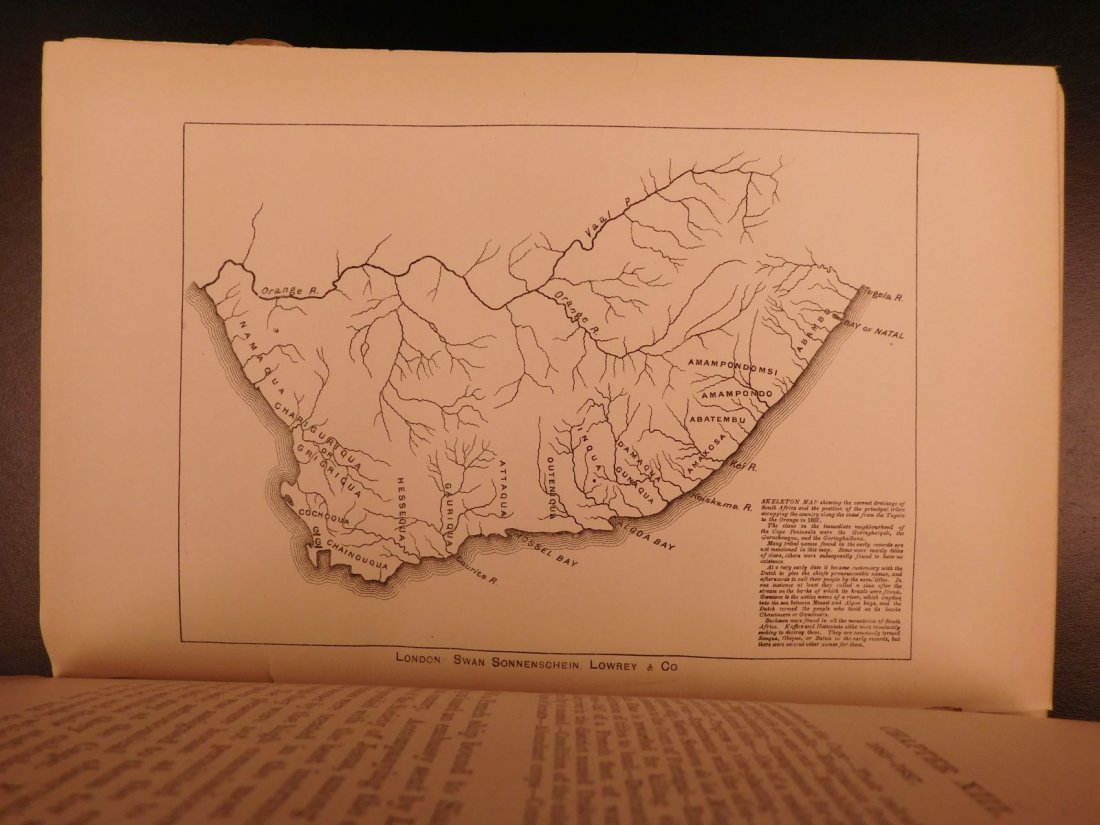 1888 History of South Africa Theal Hottentot Chinese - 7