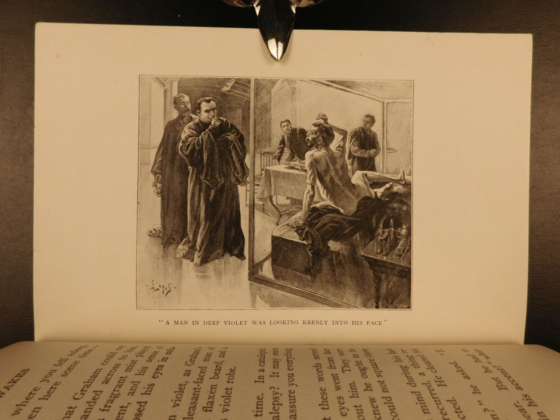1899 1st US ed When the Sleeper Wakes HG Wells Dystopia - 7