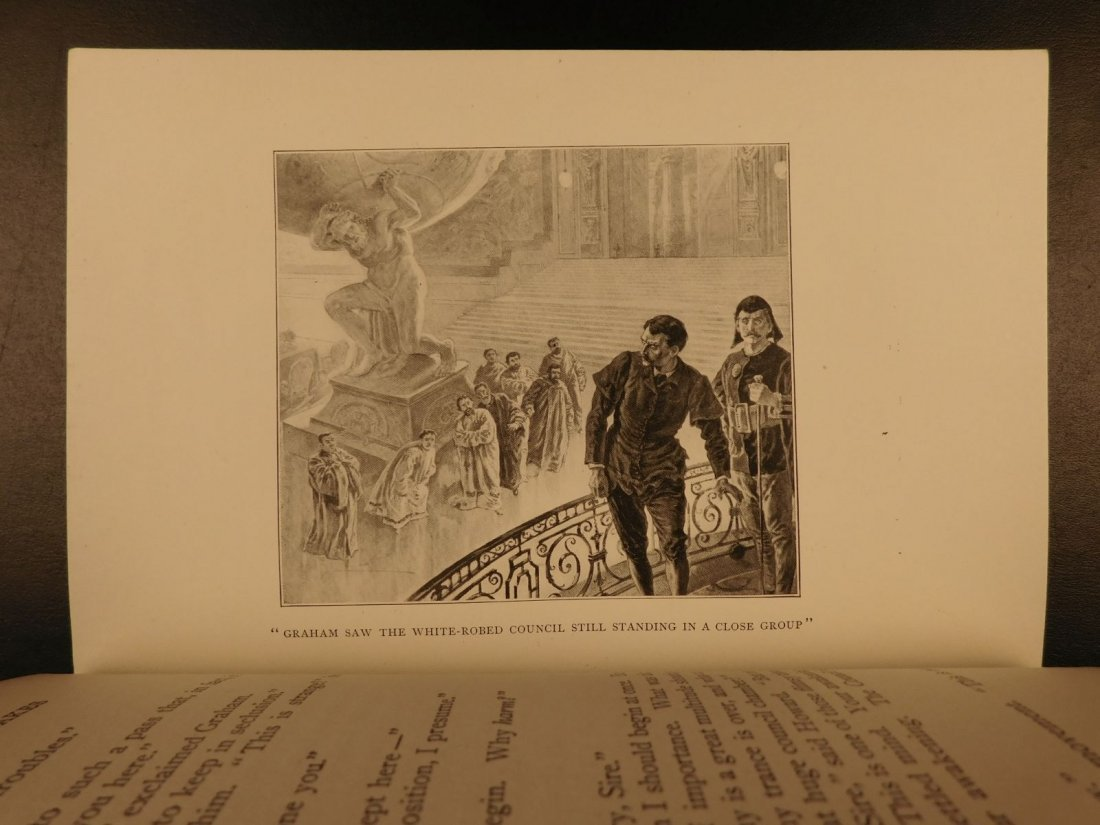 1899 1st US ed When the Sleeper Wakes HG Wells Dystopia - 9