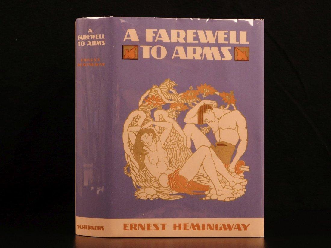1929 1st/1st Farewell to Arms Hemingway World War I