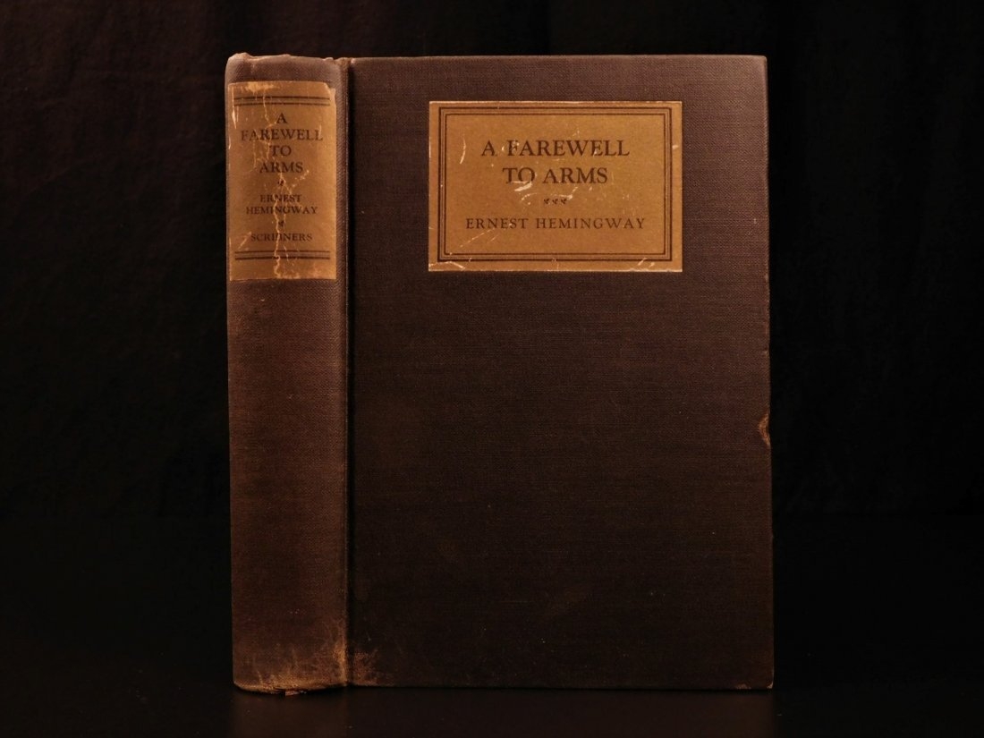 1929 1st/1st Farewell to Arms Hemingway World War I - 3