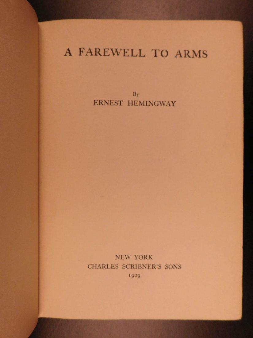 1929 1st/1st Farewell to Arms Hemingway World War I - 5
