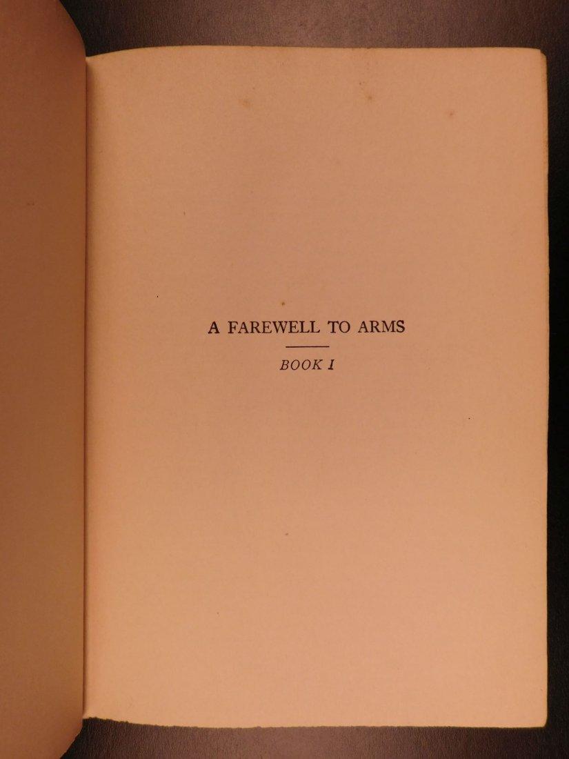 1929 1st/1st Farewell to Arms Hemingway World War I - 8