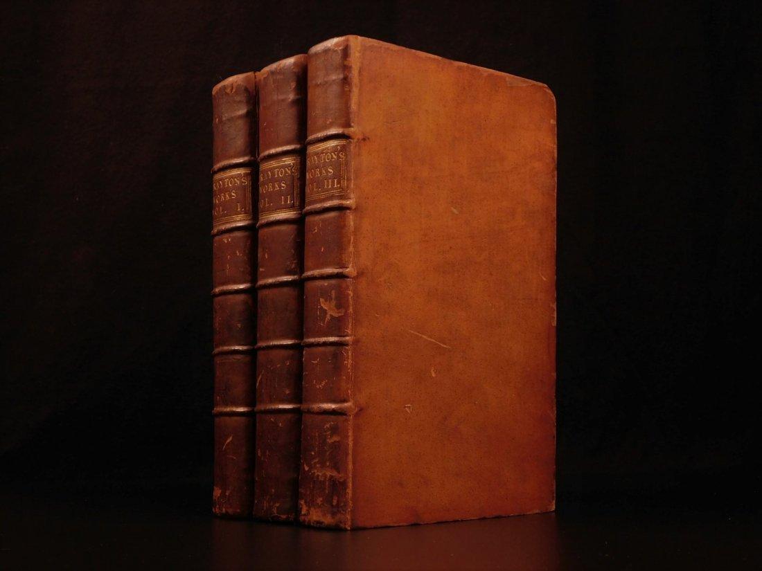 1753 Works of Michael Drayton Elizabethan English Poet - 2