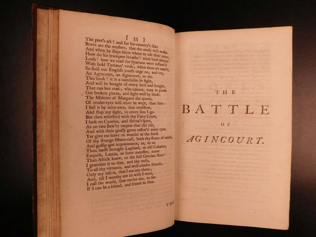 1753 Works of Michael Drayton Elizabethan English Poet - 6