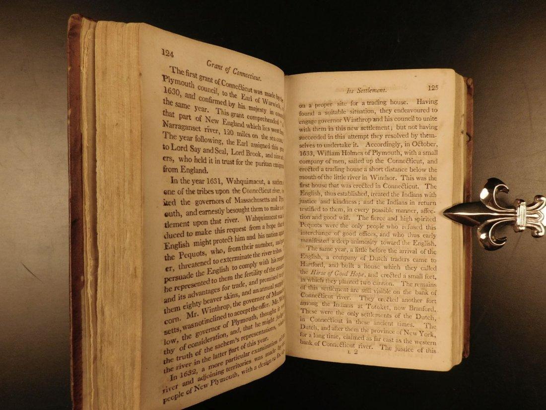 1804 AMERICANA Jedidiah Morse History of New England - 10
