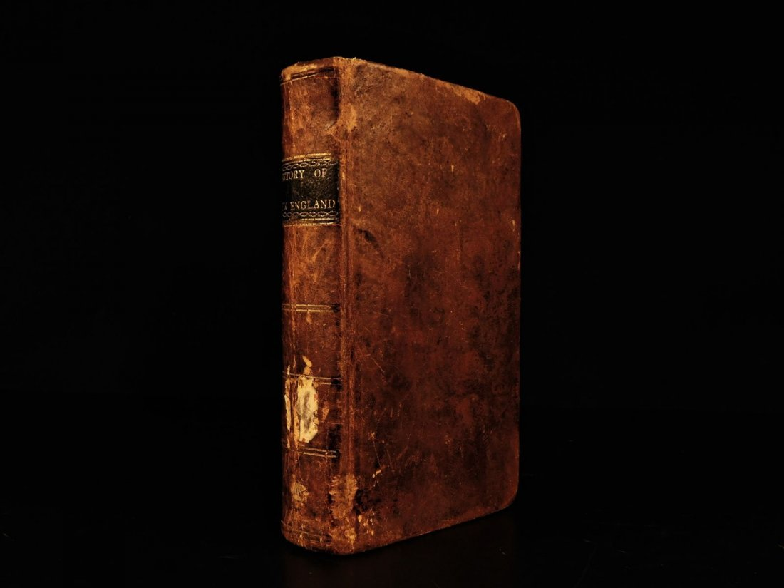 1804 AMERICANA Jedidiah Morse History of New England