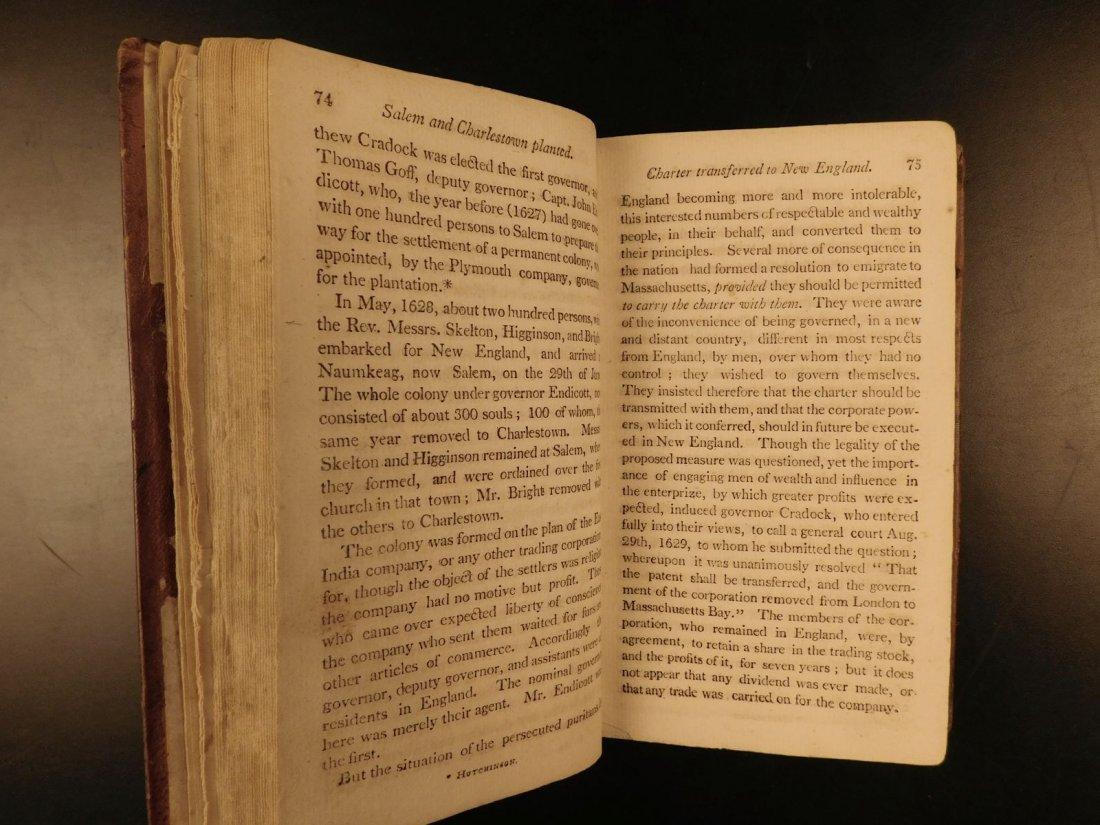 1804 AMERICANA Jedidiah Morse History of New England - 8