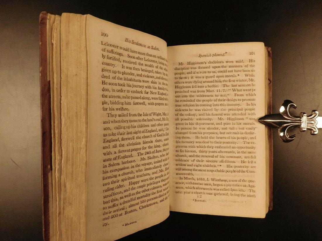 1804 AMERICANA Jedidiah Morse History of New England - 9
