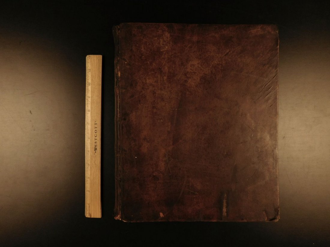 1844 King James Holy BIBLE New York Old & New Testament - 2