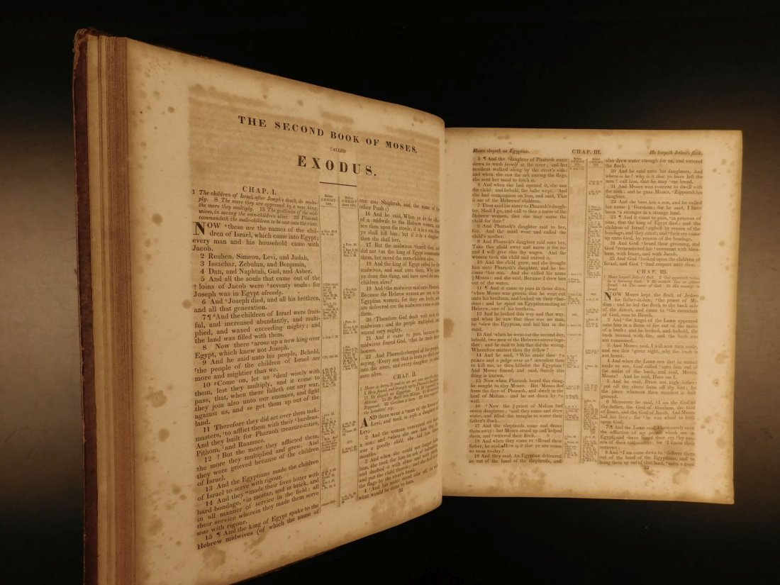 1844 King James Holy BIBLE New York Old & New Testament - 5