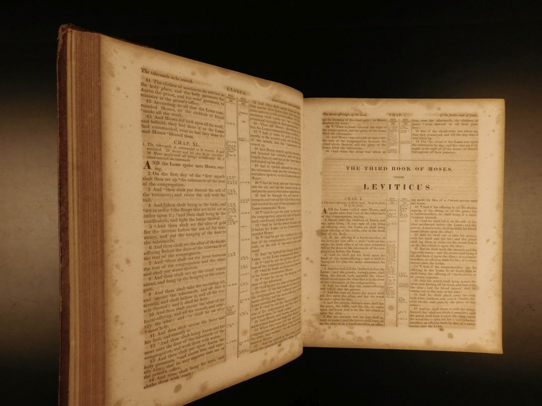 1844 King James Holy BIBLE New York Old & New Testament - 6