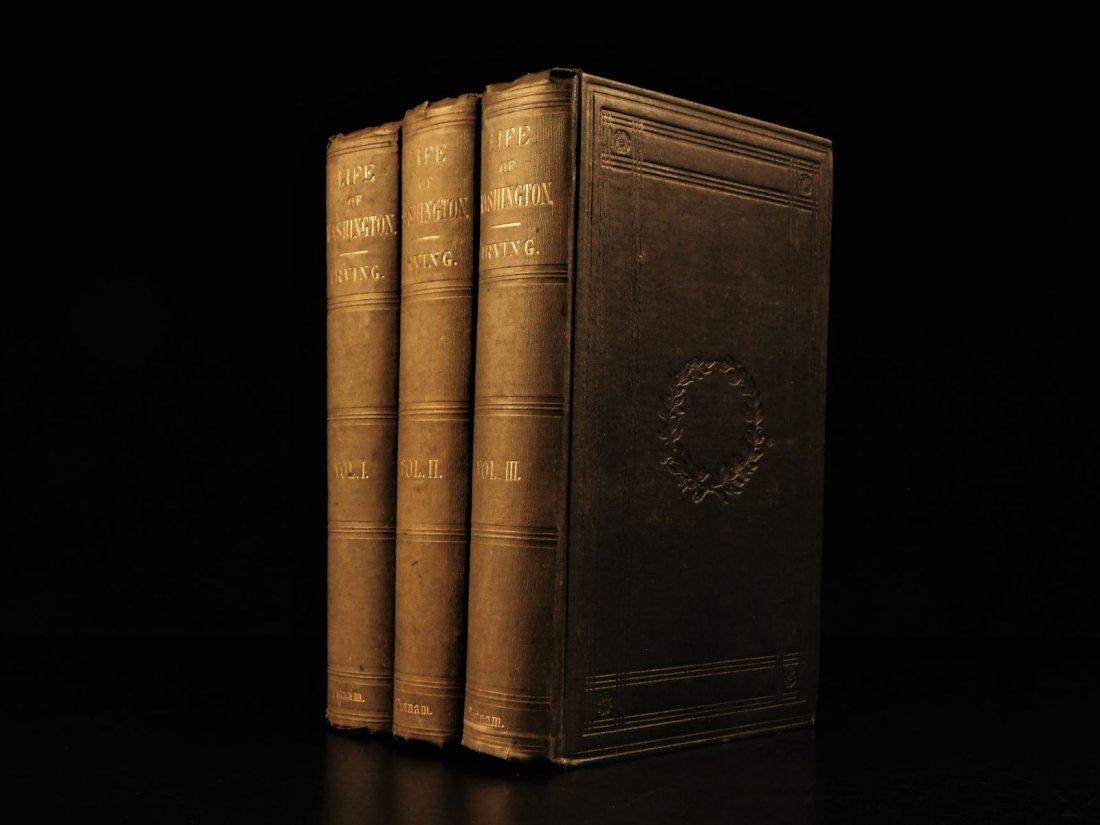 1855 Life of George Washington by Washington Irving