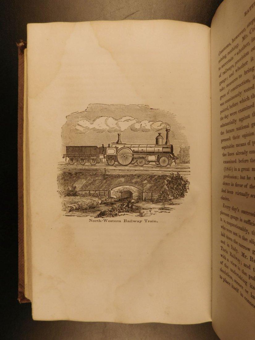 1860 RAILROADS George Stephenson Steam Engines Railway - 9