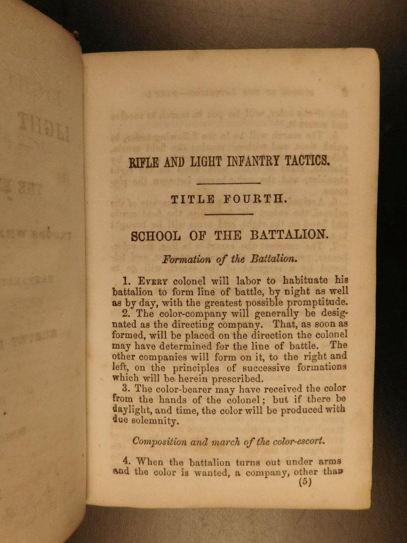 1863 Hardee Rifle & Light Infantry Tactics Civil War - 3