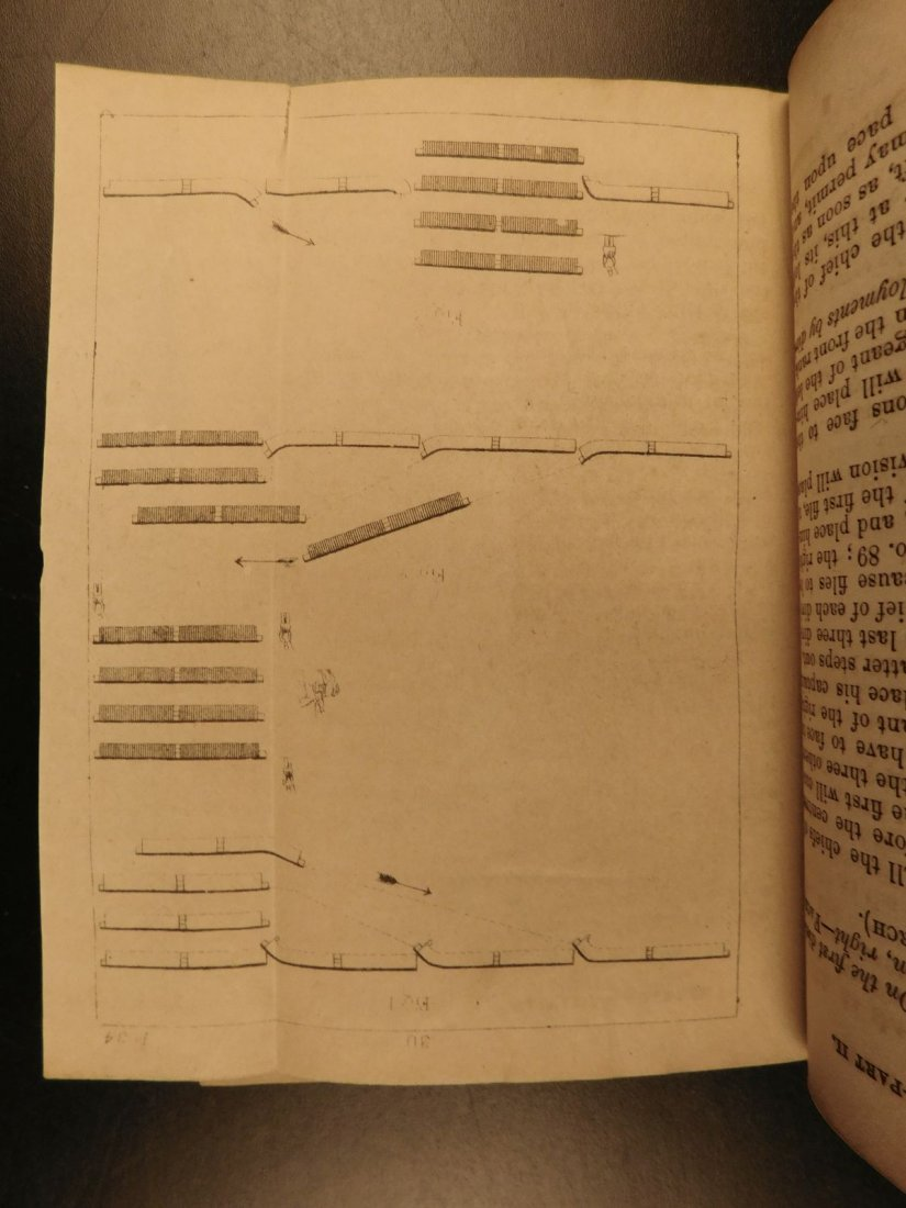 1863 Hardee Rifle & Light Infantry Tactics Civil War - 7