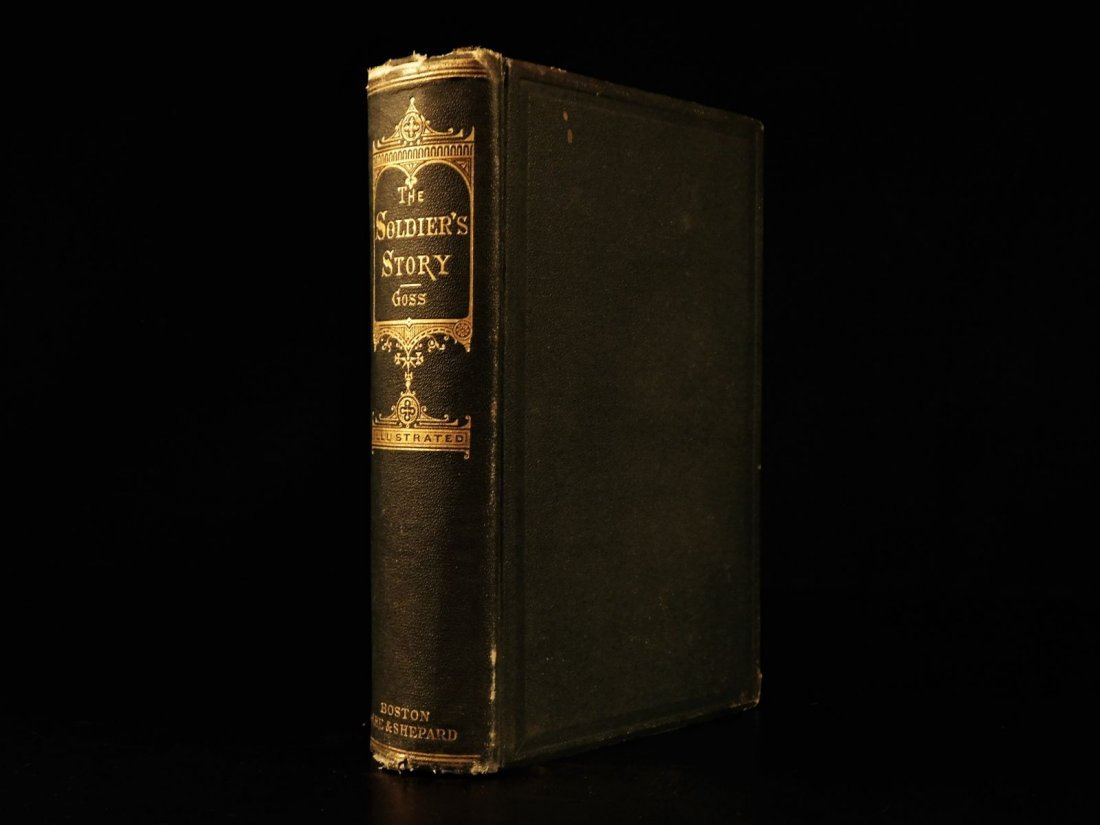 1866 1ed Andersonville Soldier's Story CIVIL WAR