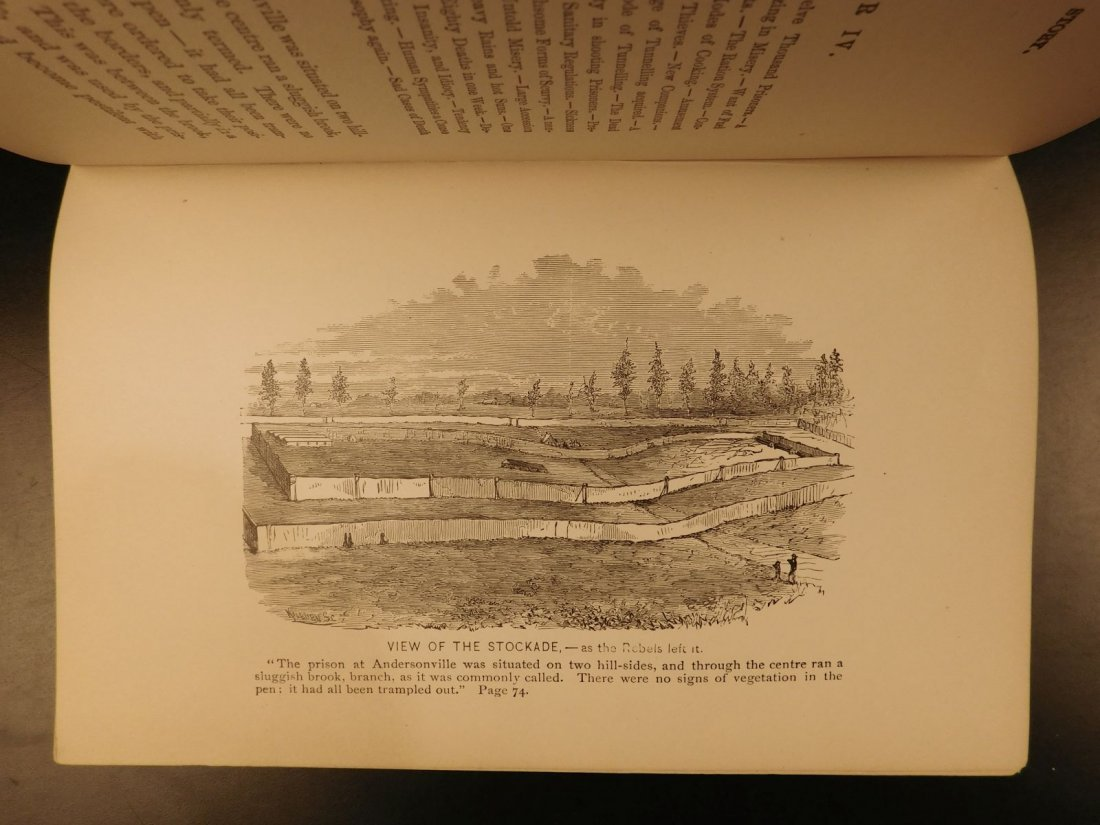 1866 1ed Andersonville Soldier's Story CIVIL WAR - 7