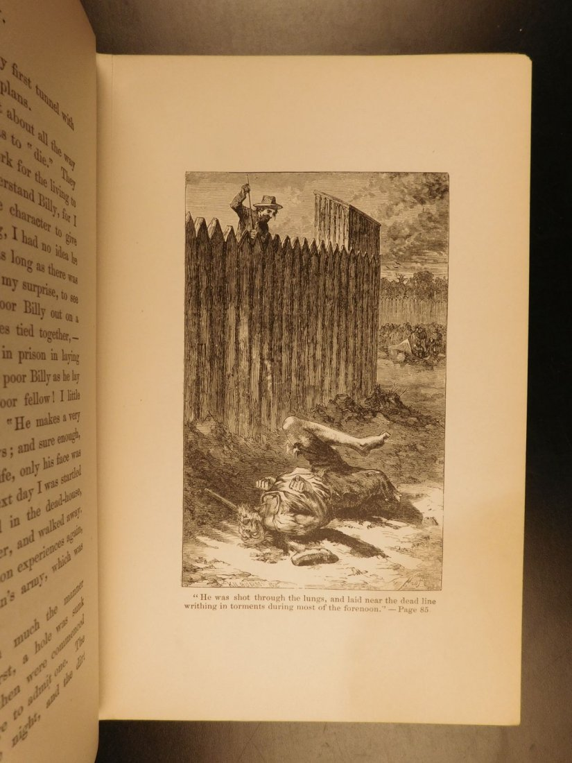 1866 1ed Andersonville Soldier's Story CIVIL WAR - 9