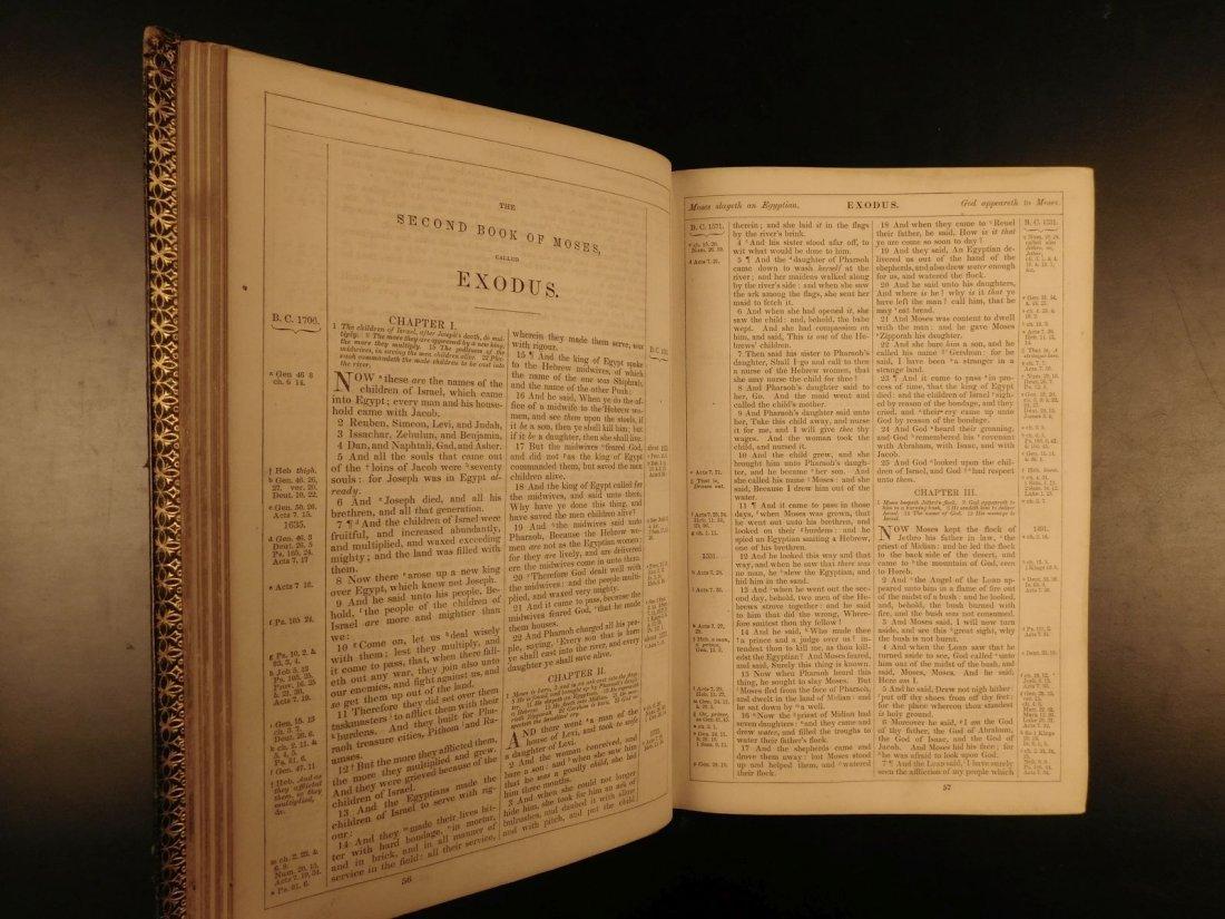 1868 BEAUTIFUL King James Holy BIBLE American Bible - 5