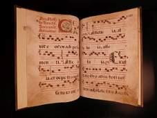 1400s EXQUISITE Medieval Manuscript Antiphonal CHANT