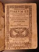 1583 VIRGIN MARY Coster Thesaurus Piarum Catholic