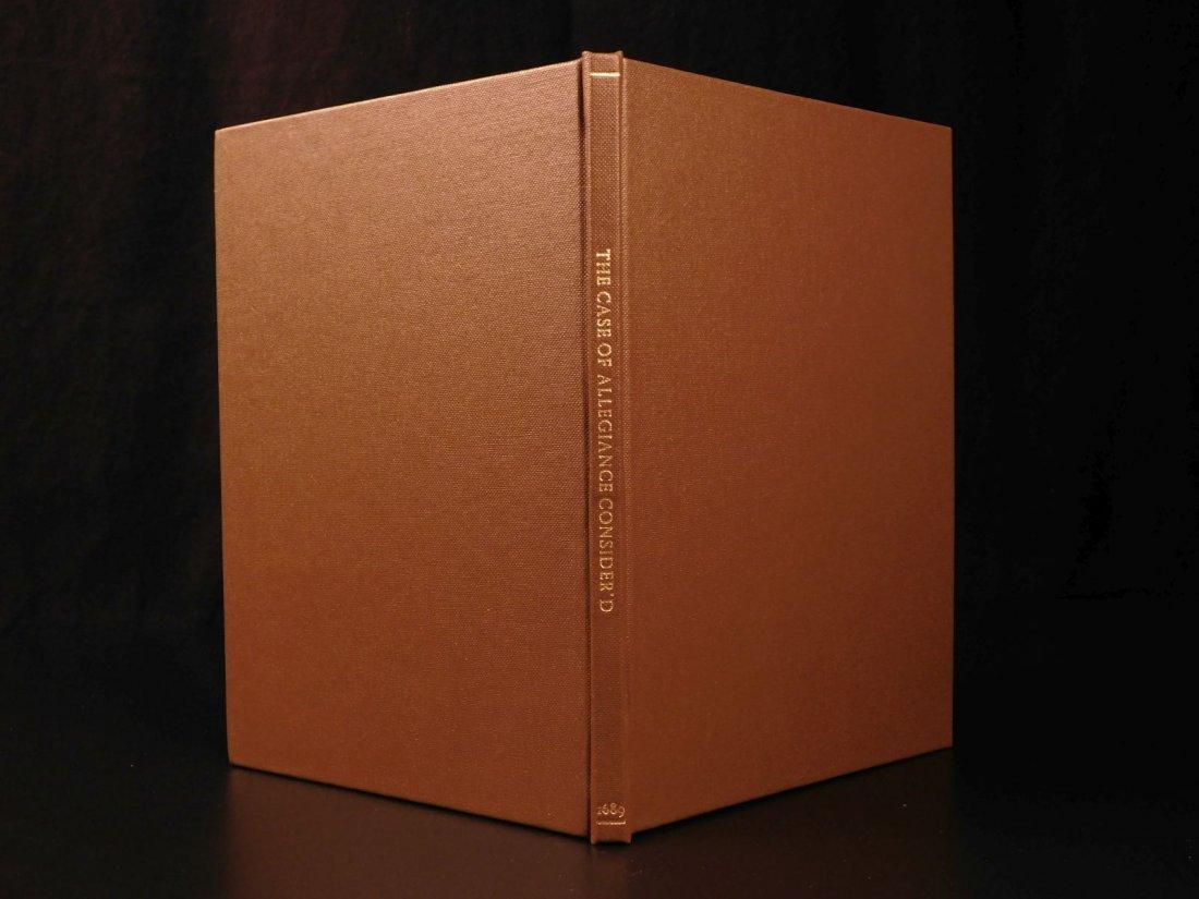 1689 1st ed Glorious Revolution Allegiance James II