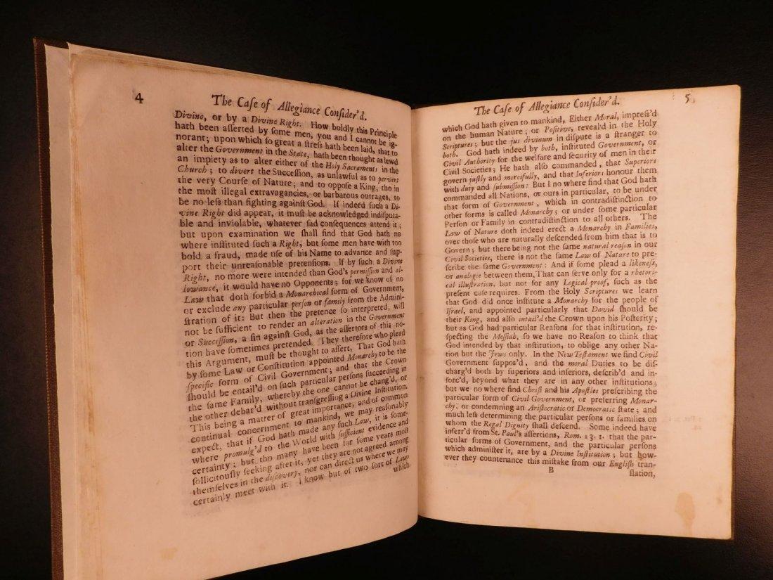 1689 1st ed Glorious Revolution Allegiance James II - 5