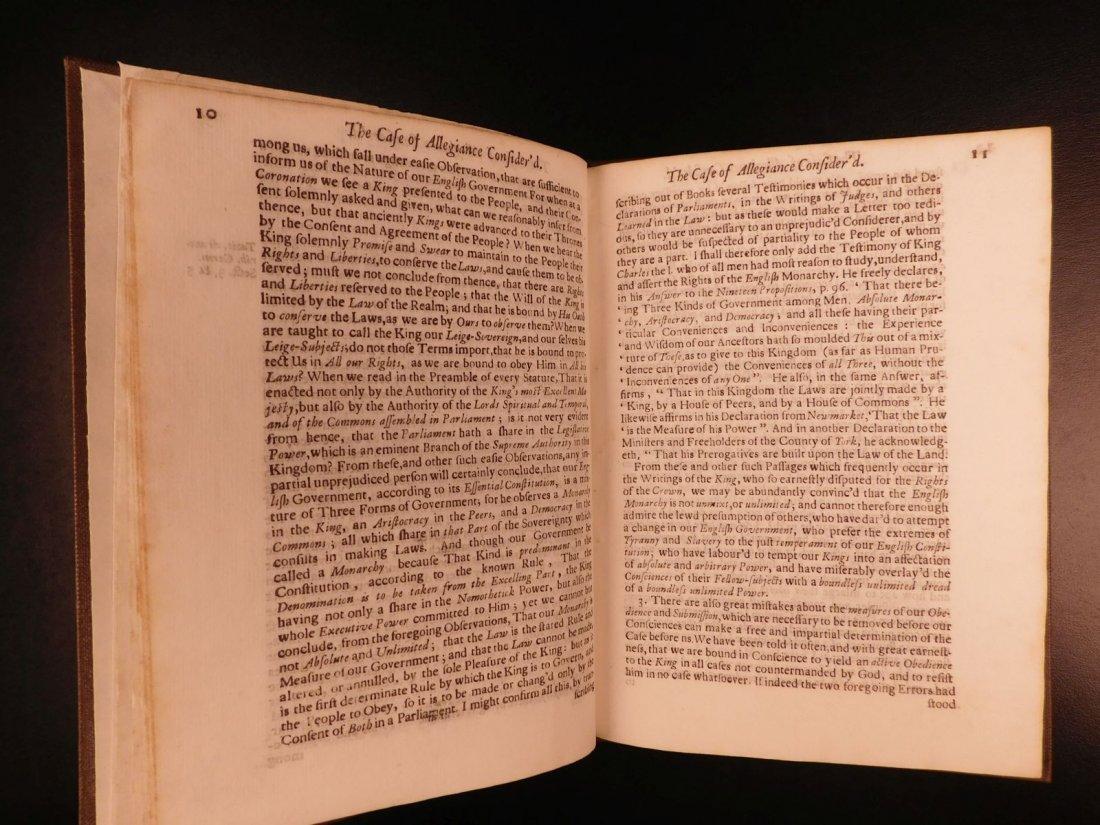1689 1st ed Glorious Revolution Allegiance James II - 6