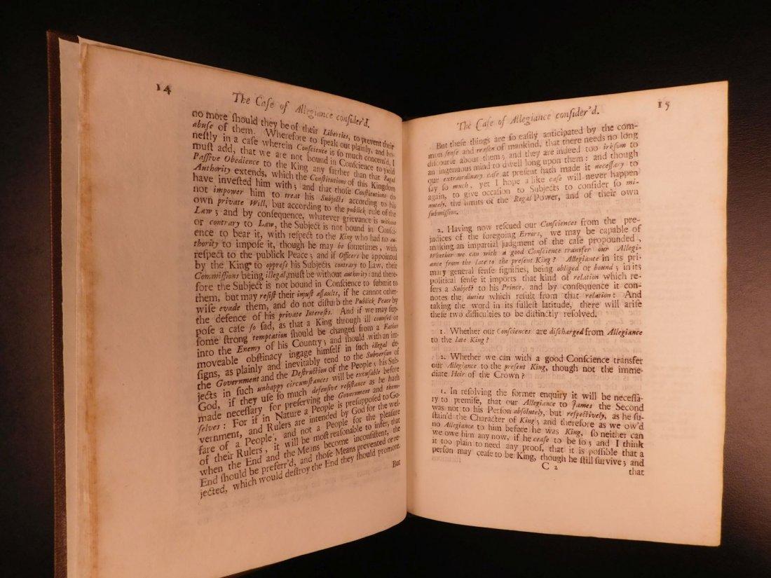 1689 1st ed Glorious Revolution Allegiance James II - 7