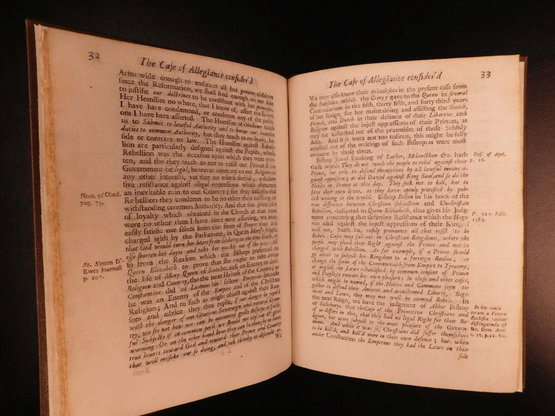 1689 1st ed Glorious Revolution Allegiance James II - 8