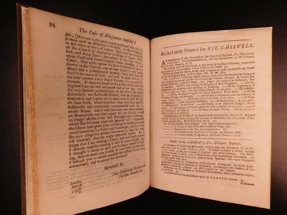 1689 1st ed Glorious Revolution Allegiance James II - 9