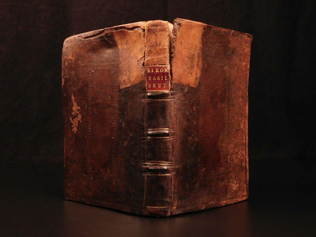 1694 Eikon Basilike Trial of King Charles I of English - 2