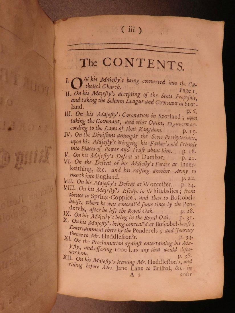 1694 Eikon Basilike Trial of King Charles I of English - 3