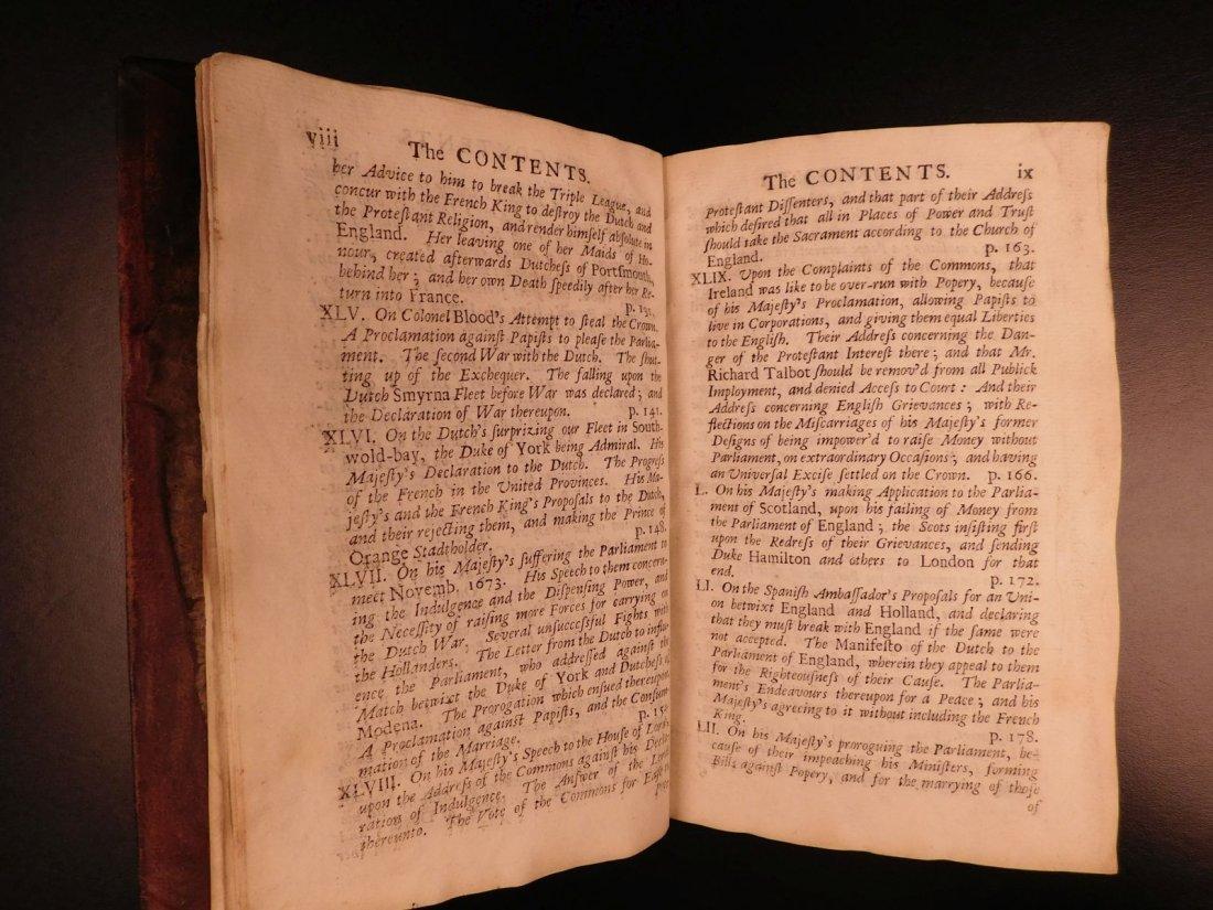 1694 Eikon Basilike Trial of King Charles I of English - 6