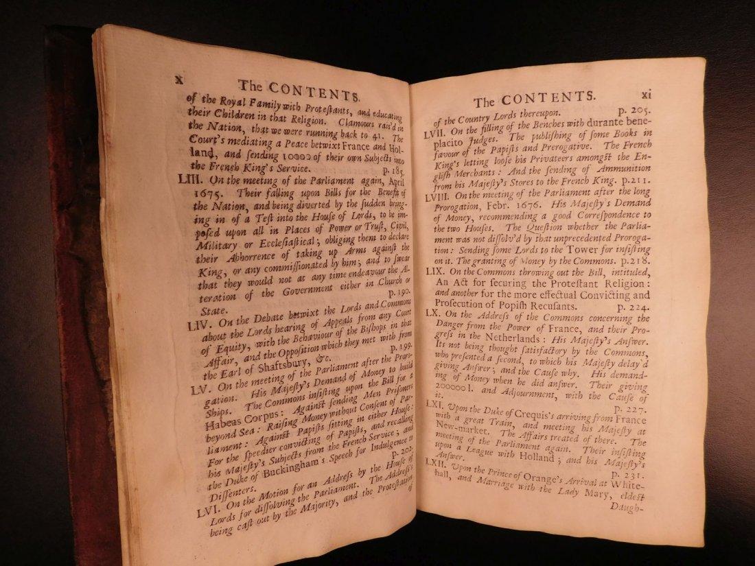 1694 Eikon Basilike Trial of King Charles I of English - 7