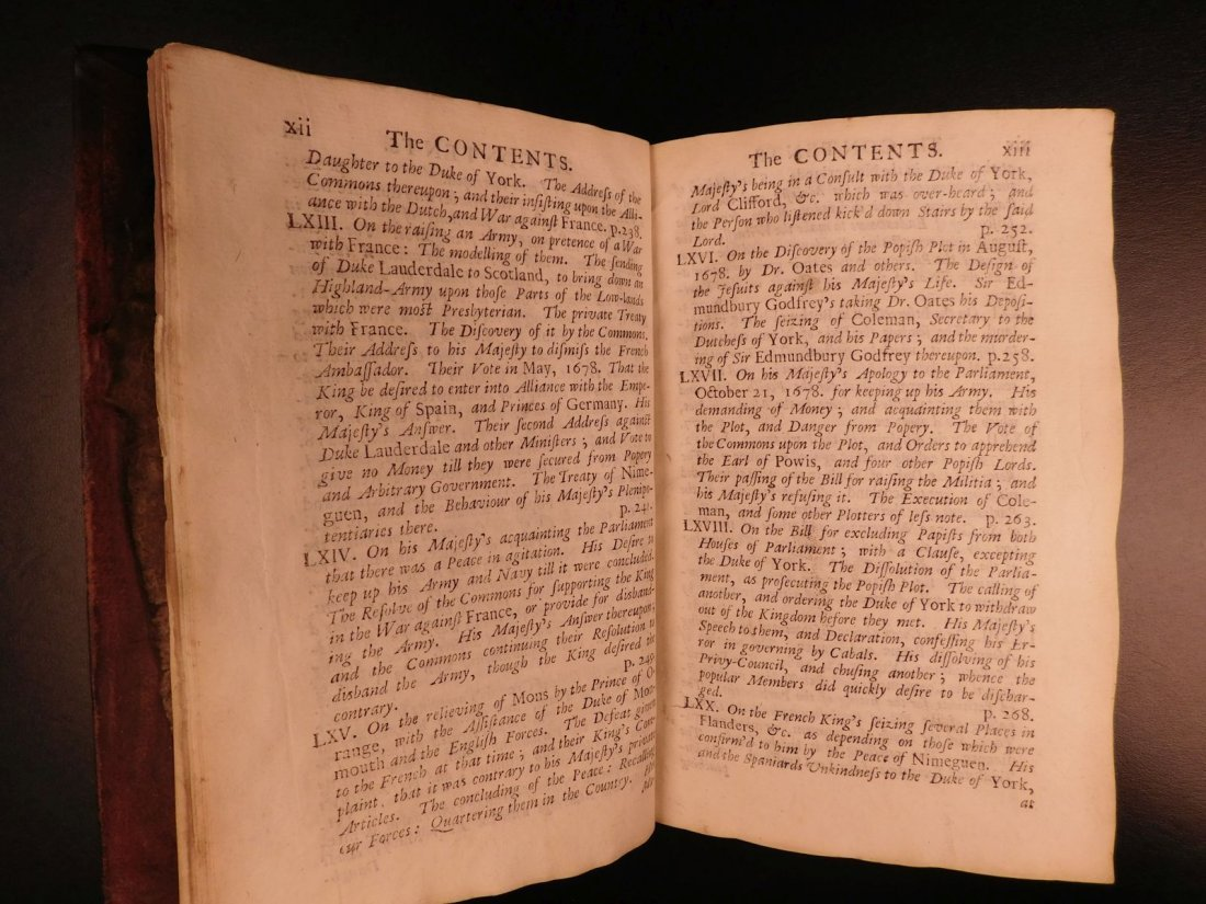 1694 Eikon Basilike Trial of King Charles I of English - 8