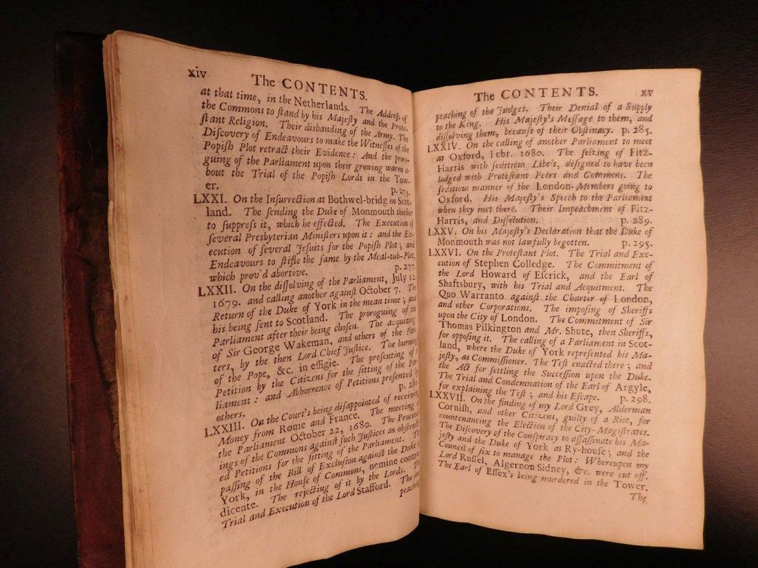 1694 Eikon Basilike Trial of King Charles I of English - 9