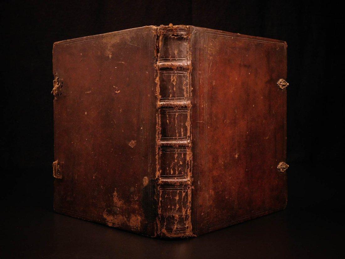 1761 German Lutheran Book Prayers Bible Jesus Flensburg