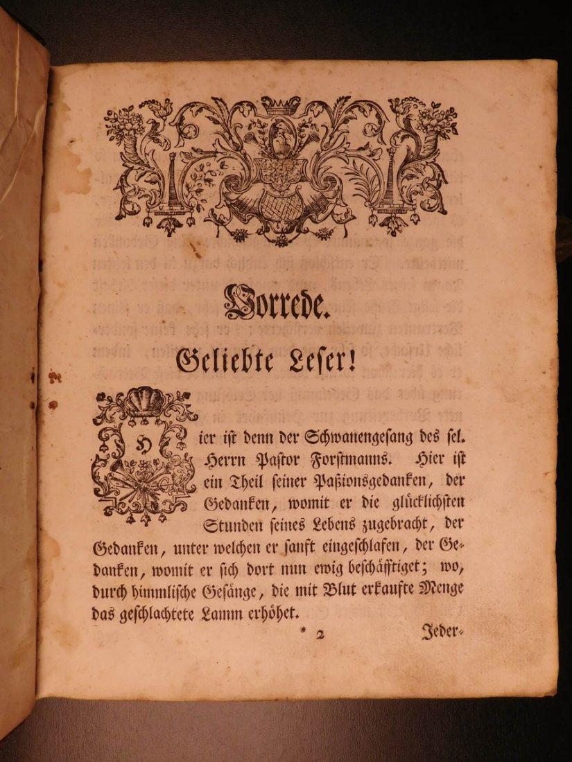 1761 German Lutheran Book Prayers Bible Jesus Flensburg - 4